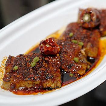 麻辣焼烤鰻魚