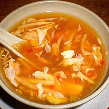 フカヒレ酸辣スープ