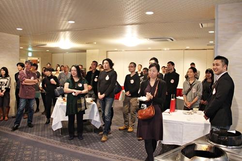 2014年11月に開催した「涙を流して口から火をふく、四川料理の旅」の出版記念パーティー