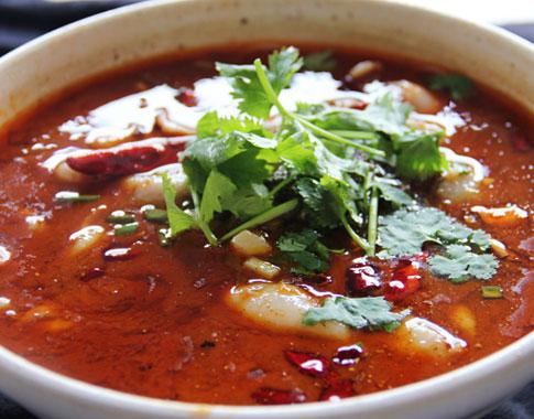 酸菜魚米線