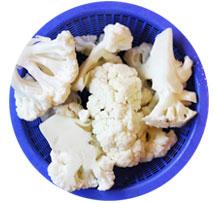 花菜(ホァーツァイ)、カリフラワー、しっかり煮込む