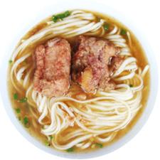 排骨,排骨面(特製パイコー麺)