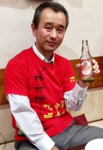 中華料理を食べるときは青島ビール!