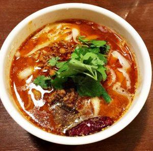 唐朝刀削麺の麻辣刀削麺