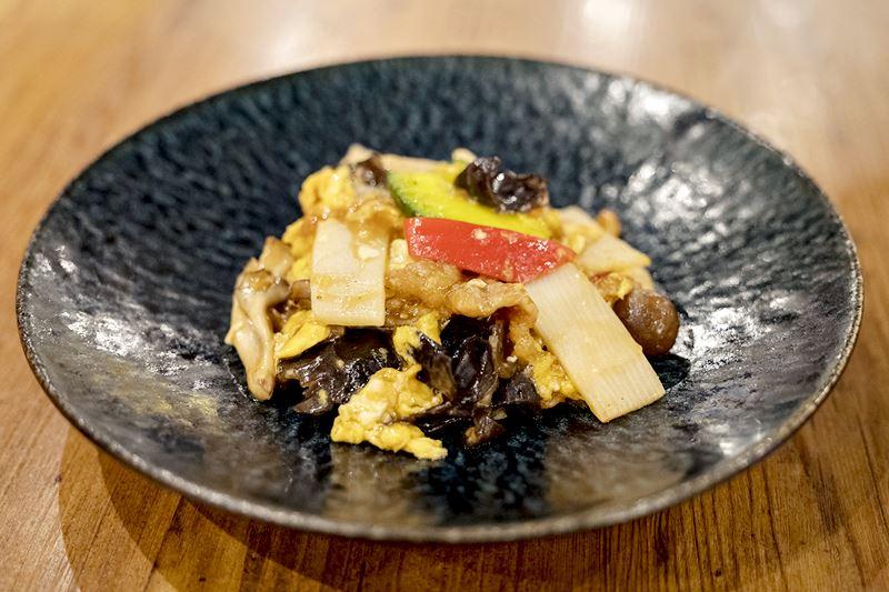 滑蛋肉片(豚肉のふわふわ卵炒め)