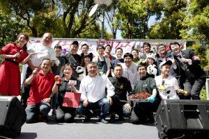 四川フェスに参加した料理人の方たち